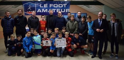 L'ES Appoigny labellisé – DISTRICT DE L'YONNE DE FOOTBALL